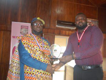 Oladebeye Bags ASUP Award