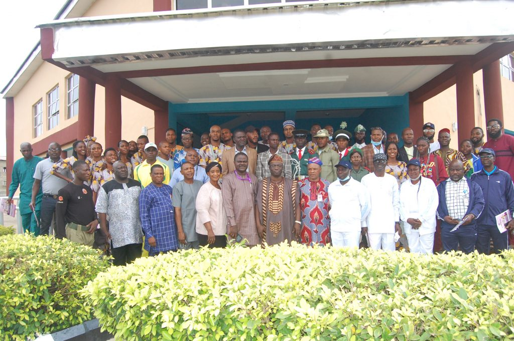 The Dr. Oladebeye in a group photograph